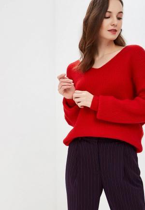 Пуловер Care of You. Цвет: красный