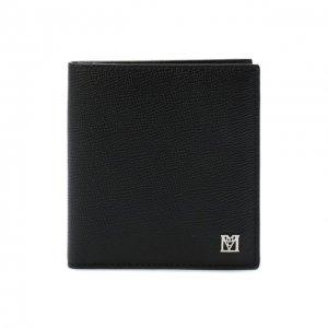 Кожаный футляр для кредитных карт MCM. Цвет: чёрный