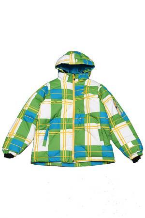 Горнолыжная куртка CAYA Five seasons. Цвет: зеленый