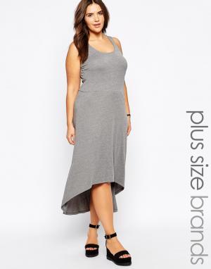 Платье-майка с асимметричной кромкой Junarose