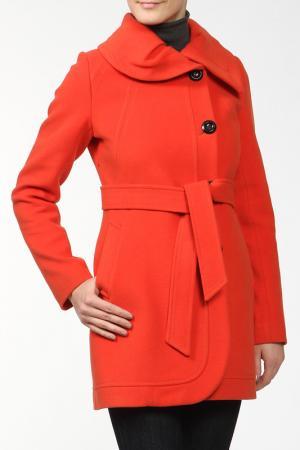 Пальто Elegant Ledy. Цвет: оранжевый