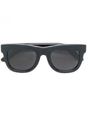 Солнцезащитные очки SUPER by в квадратной оправе Retrosuperfuture. Цвет: черный
