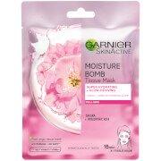 Увлажняющая тканевая маска для лица с сакурой Moisture Bomb Sakura Hydrating Face Sheet Mask Garnier