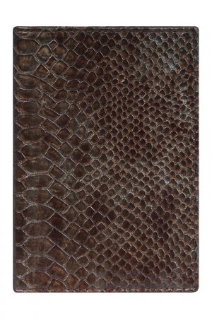Обложка для паспорта Alliance. Цвет: коричнево-серый