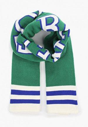 Шарф United Colors of Benetton. Цвет: зеленый