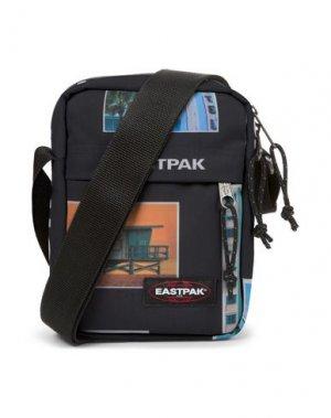 Сумка через плечо EASTPAK. Цвет: черный