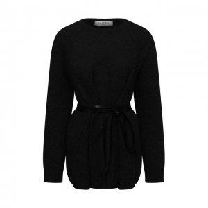 Пуловер из шерсти и кашемира Valentino. Цвет: чёрный