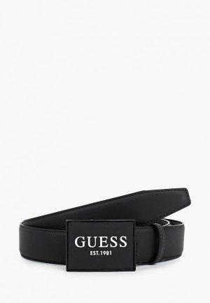 Ремень Guess. Цвет: черный