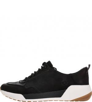Кожаные кроссовки Kiri Up Sneaker Timberland. Цвет: черный