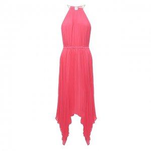Платье MICHAEL Kors. Цвет: розовый