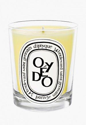 Свеча ароматическая Diptyque Oyedo/Оэдо, 190 г. Цвет: белый