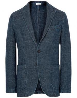 Пиджак EIDOS. Цвет: темно-синий