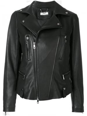 Fitted biker jacket Desa 1972. Цвет: чёрный