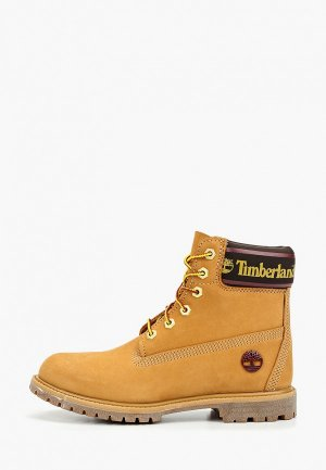 Тимберленды Timberland 6in Premium Boot. Цвет: желтый