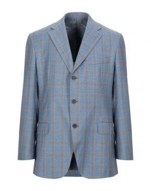 Пиджак JASPER REED. Цвет: лазурный