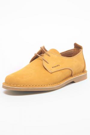 Туфли Friendly. Цвет: желтый