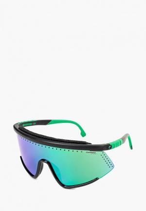 Очки солнцезащитные Carrera HYPERFIT 10/S 7ZJ. Цвет: зеленый