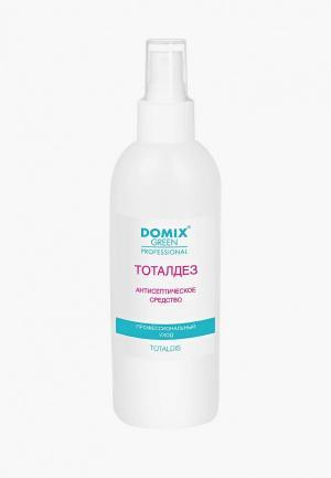 Антисептическое средство Domix TOTAL DISINFECTANT Тоталдез - средство, для обработки рук и ступней ног. Цвет: разноцветный