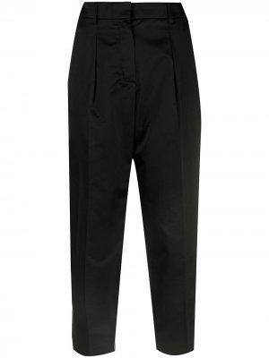 Укороченные брюки pre-owned строгого кроя Hermès. Цвет: черный