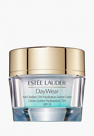 Гель для лица Estee Lauder сорбет увлажняющий DayWear Anti-Oxidant 72H-Hydration Sorbet Crème SPF15 50 мл. Цвет: прозрачный