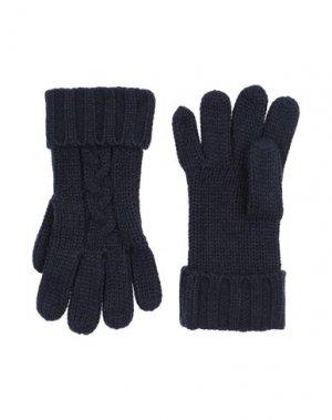 Перчатки MICHAEL KORS MENS. Цвет: темно-синий