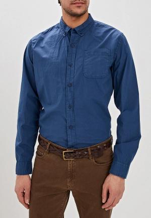 Рубашка Dockers. Цвет: синий