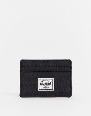 Темно-синяя визитница -Черный цвет Herschel Supply Co