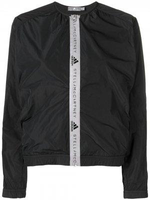 Куртка-бомбер Athletics adidas by Stella McCartney. Цвет: черный