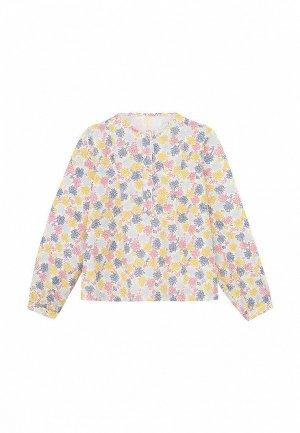 Блуза My Junior. Цвет: разноцветный