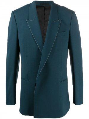 Oversize contrasting stitch blazer Paul Smith. Цвет: синий