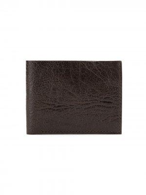 Классический кошелек Osklen. Цвет: коричневый
