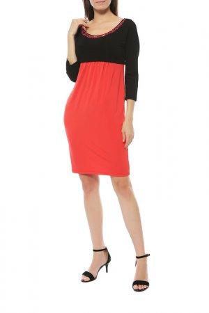 Платье Roccobarocco. Цвет: красный