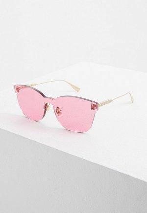 Очки солнцезащитные Christian Dior DIORCOLORQUAKE2 MU1. Цвет: розовый