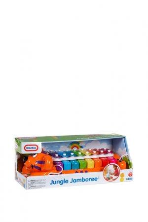 Игрушка Веселый тигр Little Tikes. Цвет: оранжевый