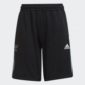 Брюки AEROREADY Messi X Football-Inspired Performance adidas. Цвет: черный