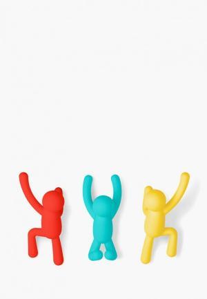 Комплект крючков Umbra BUDDY. Цвет: разноцветный