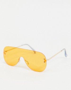 Солнцезащитные очки -Оранжевый AJ Morgan