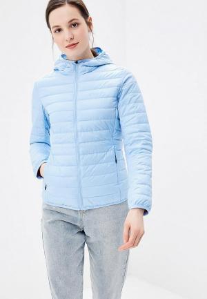 Куртка утепленная Anta Outdoor Urban. Цвет: голубой