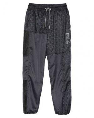 Повседневные брюки FILA. Цвет: черный