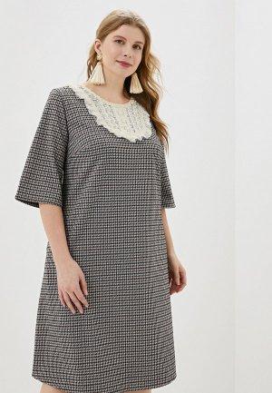 Платье Wisell. Цвет: серый