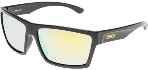 Солнцезащитные очки Uvex. Цвет: желтый