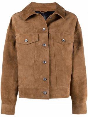 Куртка оверсайз YMC. Цвет: нейтральные цвета