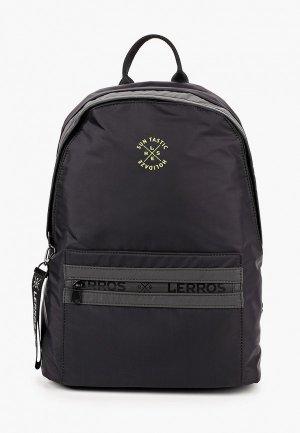 Рюкзак Lerros. Цвет: черный