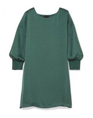 Короткое платье HATCH. Цвет: зеленый