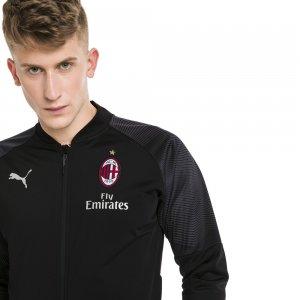 Олимпийка AC Milan STADIUM Poly Jacket PUMA. Цвет: черный