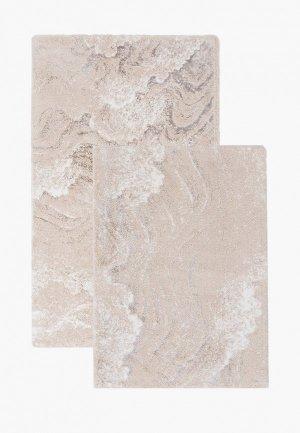 Комплект ковриков Sofi De Marko 60х100 см, 40х60 см. Цвет: бежевый