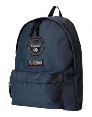 Рюкзаки и сумки на пояс NAPAPIJRI. Цвет: темно-синий