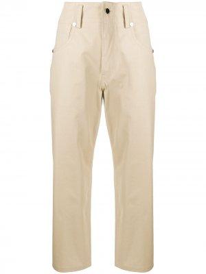 Sofie Dhoore брюки чинос прямого кроя с завышенной талией D'hoore. Цвет: нейтральные цвета