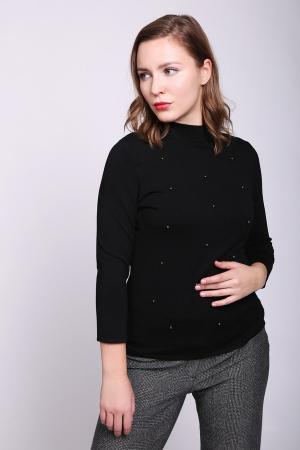 Пуловер Comma. Цвет: чёрный