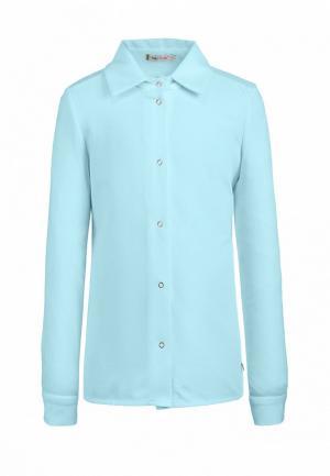 Блуза Chadolini. Цвет: голубой